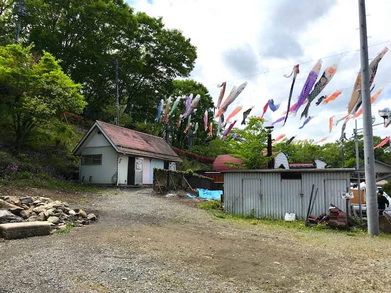 武甲キャンプ場トレイ