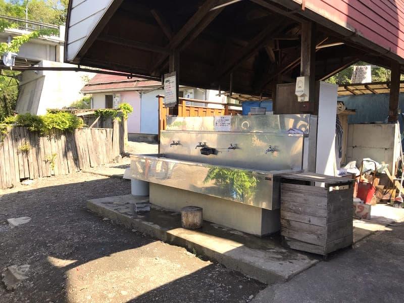 武甲キャンプ場炊事場