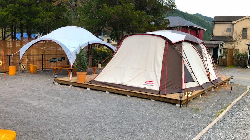 ケニーズ・ファミリー・ビレッジ常設テント